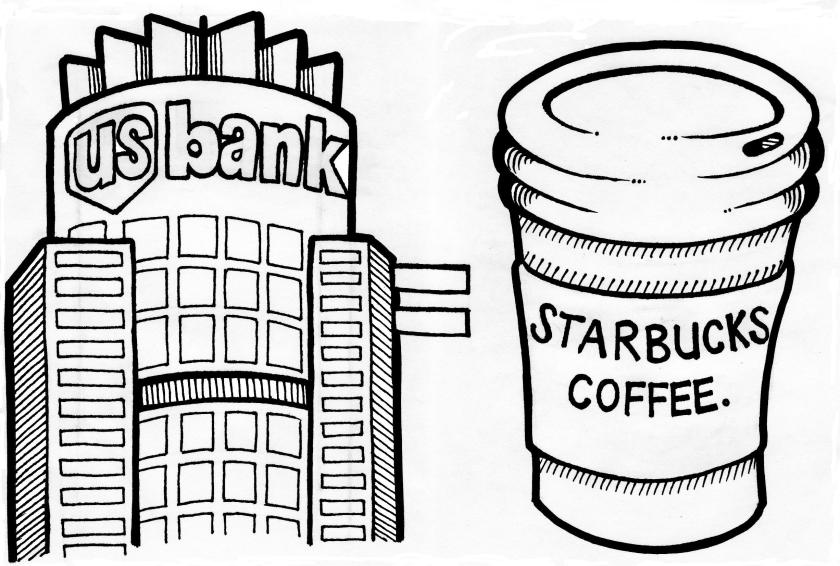 starbucks coffee logo coloring pages coloring pages